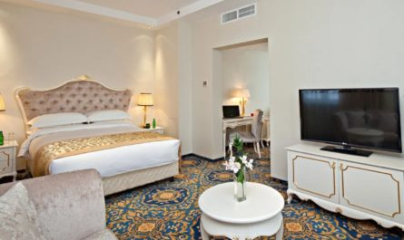 Четырёхзвёздочный отель БЦ Гринвуд в Путилково - триумфатор в номинации «Лучший отель Подмосковья».