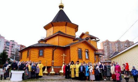 Расписание служб в храме Покрова Пресвятой Богородицы в Нахабино.