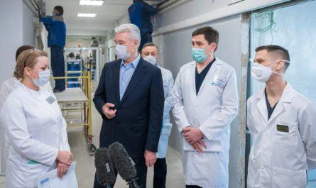 Собянин о коронавирусе в Москве сегодня. Антиковидные меры в столице.