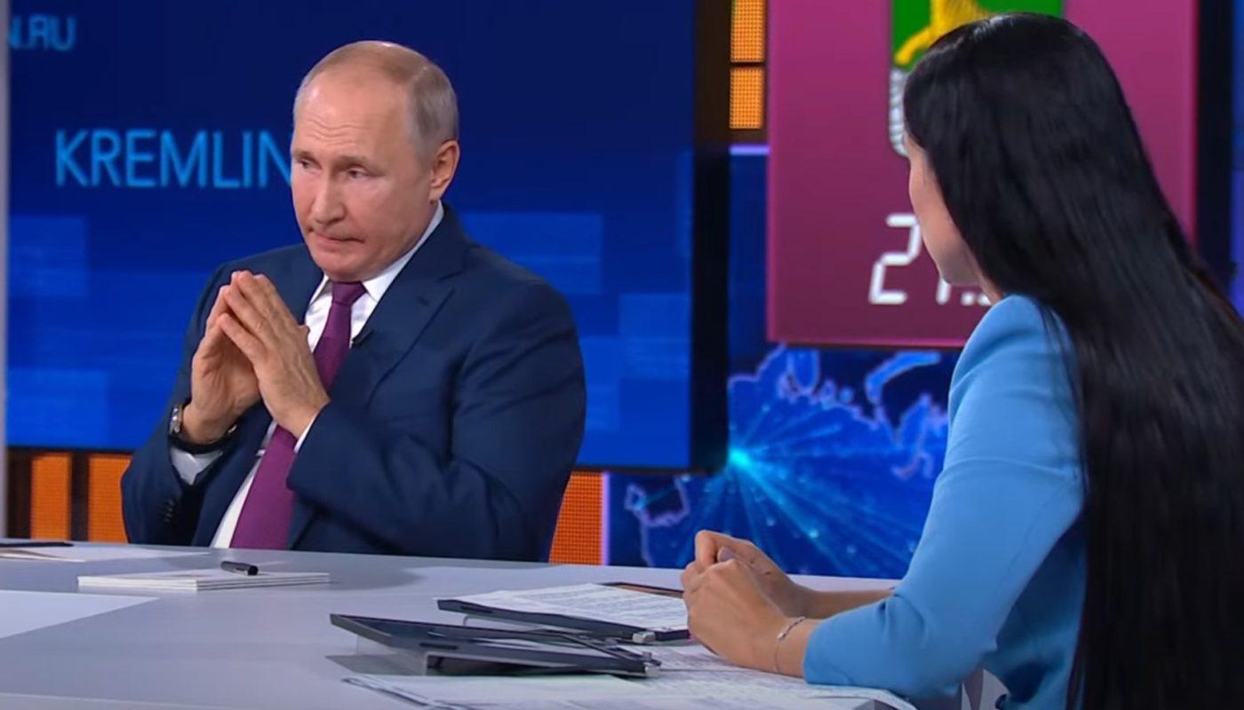 Президент России Владимир Путин дал ответ блогеру по вопросу блокировки иностранных соц. сетей в 2021 - 2022 году